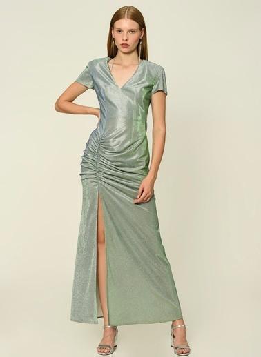 Esra Gürses Elbise Yeşil